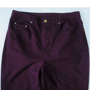 "Purple Jeans size16 WR (35"" waist,  44"" hips) NEW"
